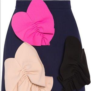 MSGM mini heart skirt